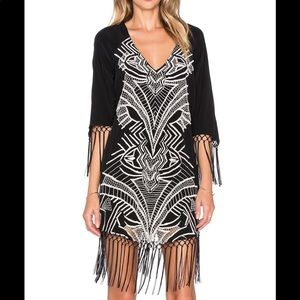 NWOT Cleobella Shadow Embroidered Dress